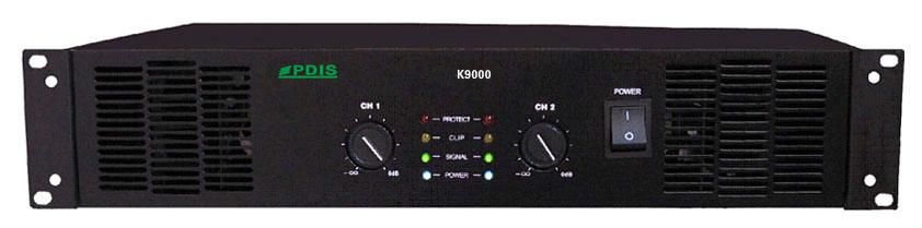 1000w×2(8 Ω),大功率设计;高性能,低辐射,环形电压器;h类输出电路